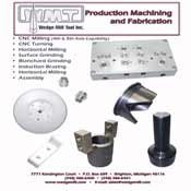 Wedge-Mill Tool Inc Brochures and Other Documentation - production_flier